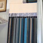 prugasta posteljina od pamuka