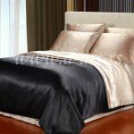 posteljina od svilenog satena sa dva lica