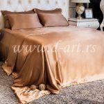 bračna posteljina od svilenog satena