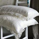 jastučnice od pamuka sa rišelje radom