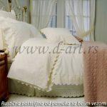 rustične posteljine za spavaću sobu