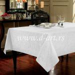 beli stolnjaci za kuhinjski sto