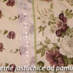 čipkane jastučnice za krevet