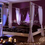 baldahini za romanticne apartmane