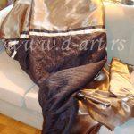 luksuzni prekrivaci u zlatnoj boji