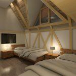 opremanje apartmana natural wood