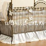 posteljina za bebe sa suknjicom