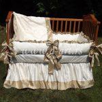 posteljina za bebe sa svilenom trakom