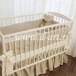 jednobojna posteljina za bebe