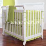decija posteljina kivi zelene boje