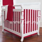 crvena decija posteljina za deciji krevetac