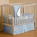 svetlo plava decija posteljina