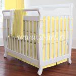 zuta posteljina za decu od pamuka