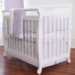 ljubicasta posteljina za decu od pamucnog satena