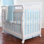 tirkiz jednoboja posteljina za deciji krevetac