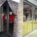 restoran pizzeria spoljasnji izgled tekstila