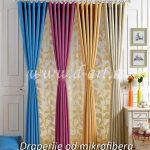 veliki izbor boja draperija od pamuka
