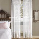rusticne zavese u beloj boji