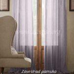 ljubicaste zavese prozirne