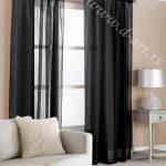 crne zavese i draperije od organdina