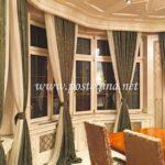 Uređenje enterijera konzulata Južne Koreje - Beograd 003 - Brokat posteljina