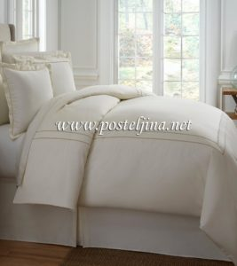 pamučna posteljina za krevet